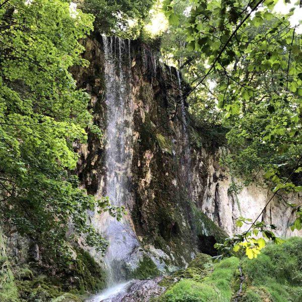 Waterfall Skakavac In A Park Forest Jankovac Or Slap Skakavac U